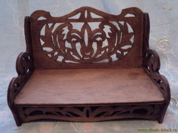 Мебель своими руками лобзик